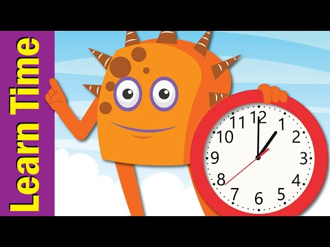 Tell The Time Song | Learn To Tell Time For Kids | Fun Kids English