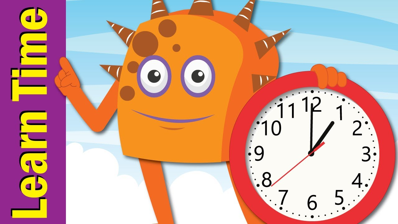 Tell The Time Song Learn To Tell Time For Kids Fun Kids English Youtube