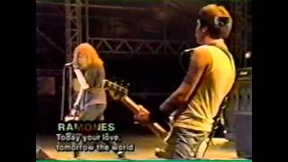Ramones - Today Your Love, Tomorrow The World (Live Argentina 1996)