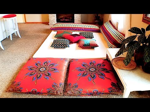 DIY Living Room Decor: Moroccan Inspired Lounge Pad (Tour)