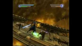 Star Wars: The Clone Wars - Lightsaber Duels (Wii) Gameplay: Anakin Skywalker vs General Grievous