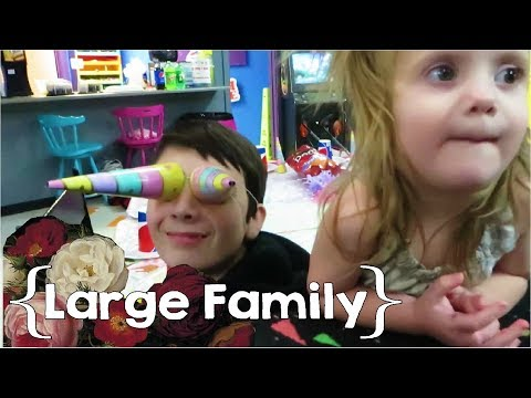 Shop with Us & Skate with Us ║ Large Family Vlog