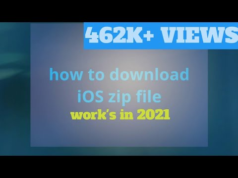 HOW TO DOWNLOAD IOS ZIP FILE FOR ANROID