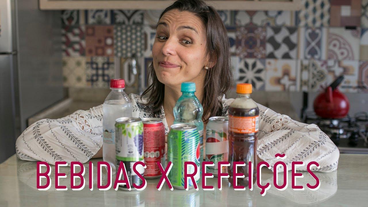 DICAS SOBRE CONSUMO DE BEBIDAS DURANTE AS REFEIÇÕES
