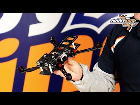 HK DYS 250 & 350 Carbon Fibre Folding Drone - Hobbyking Daily