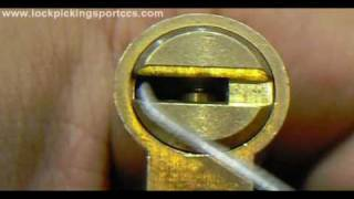 Repeat youtube video Lockpicking - Mul-T-Lock Interactive Euro Profile cylinder SPP (100th Video)