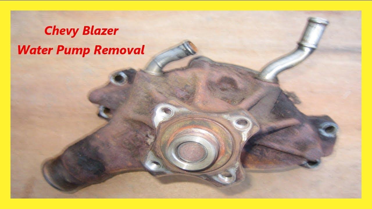 blazer water pump removal [ 1280 x 720 Pixel ]