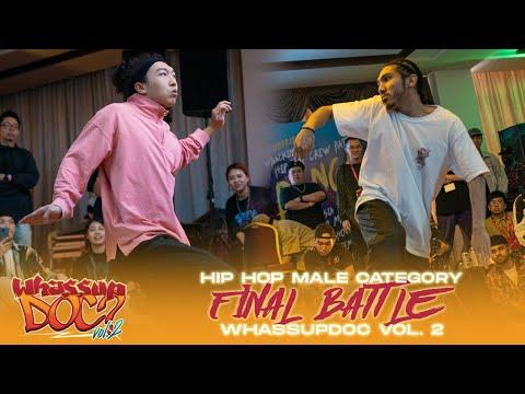 Luen Mo (HK) Vs Peot (MY)   1v1 Male Hip Hop Final Battle   Whassup Doc Vol. 2 Malaysia   RPProds
