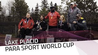Corie Mapp earned the gold in Lake Placid | IBSF Para Sport Official
