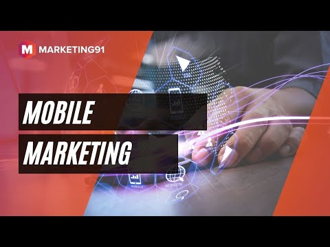 Mobile Marketing – Concept, Strategies, Types of Mobile Marketing and Examples (Marketing Video 98)