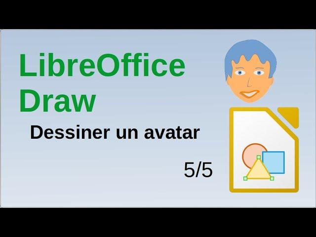 Dessin d'un avatar avec LibreOffice Draw (5/5)