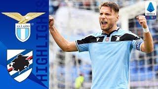 Lazio 5-1 Sampdoria | Immobile straripante, 11° successo consecutivo | Serie A TIM