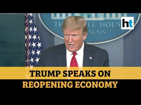 'President has total authority': Donald Trump on reopening the economy