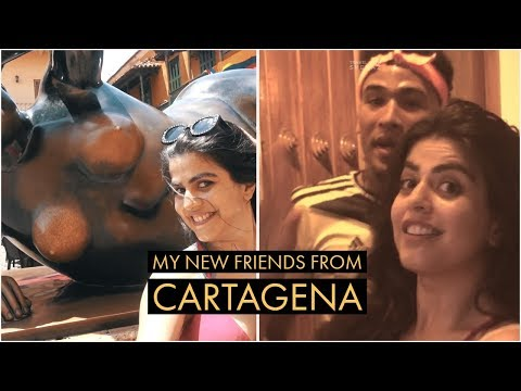 My new friends from Cartagena! Colombia Vlog