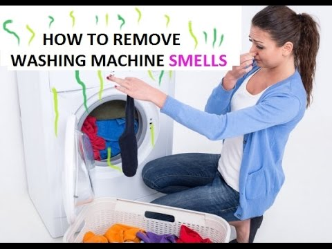 How To Clean Washing Machine Smells Remove Limescale