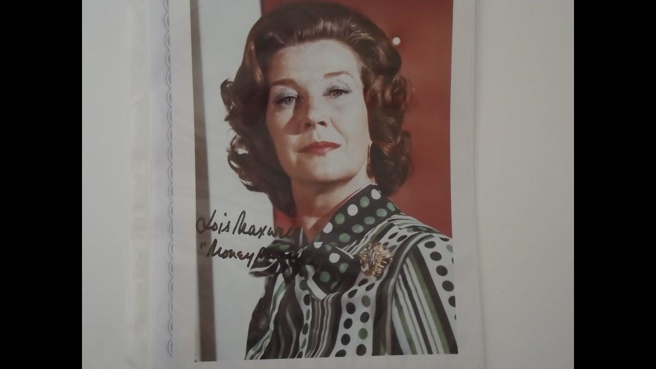 Lois Maxwell (1927-2007) Canadian actress