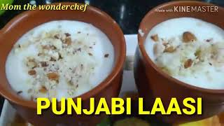 Punjabi style lassi with Badam Cashews pista/Try Punjabi lassi with Vanilla flavour/you want to Try?