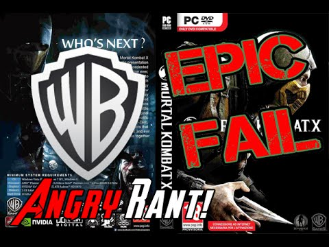 Mortal Kombat X PC Support Angry Rant!