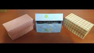 뚜껑상자종이접기.오월의장미.상자접기.origami.440