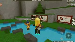Playing pri, it was once roblox with xonnekk of fle te facylity and we won the game