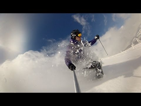 GoPro Skiing St. Gervais