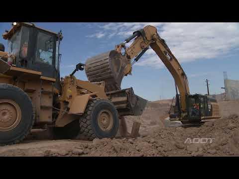 Interstate 10: Ina Road Traffic Interchange Construction (August 2017)