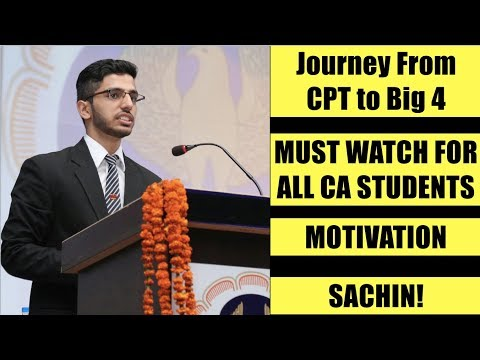 Motivation For All CA Students CPT IPCC Articleship in Big 4 Age ??? MUST WATCH