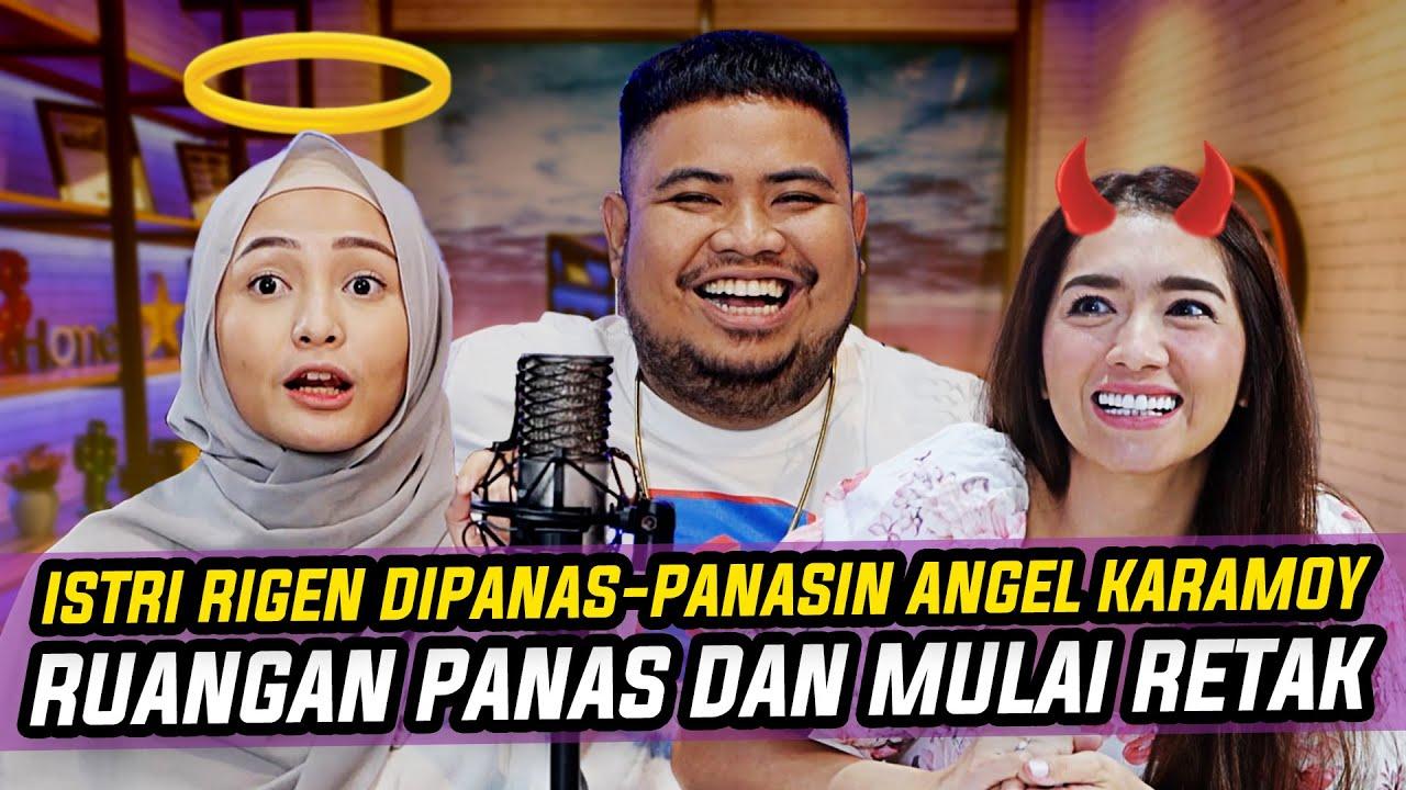 INDAH NGAMUK! RIGEN & ANGEL KARAMOY MULAI MESRA-MESRAAN | KONTEN PEDAS BIKIN GERAH!