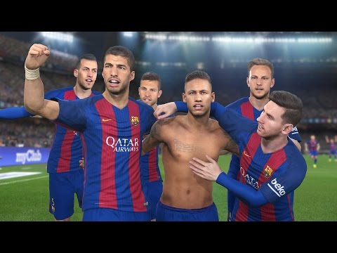 Fc Barcelona - PES 2016 le arrebatamos la supercopa | TheFurious