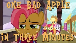 One Bad Apple in Three Minutes