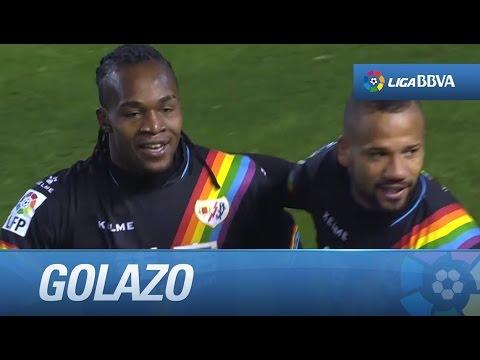 Golazo de Manucho (2-2) Real Betis - Rayo Vallecano