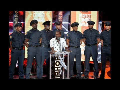 Kevin Hart At 9th Annual Hoodie Awards - Thank you JESUS ...