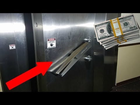 FOUND MONEY EXPLORING ABANDONED BANK! (MONEY VAULT)