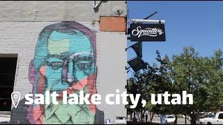 An afternoon in Salt Lake City, Utah