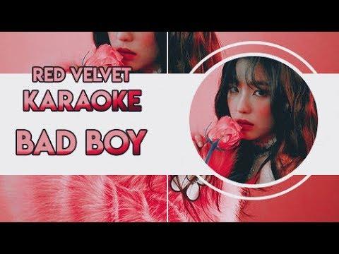 Red Velvet - Bad Boy [Karaoke / Instrumental Backing Vocal]