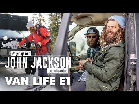 Inside the Van Life of Pro Snowboarder John Jackson. | Van Life Episode 1