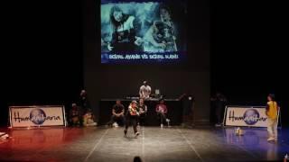 BGIRL AYANE VS BGIRL KAMI (ROUND1) - Battle Humanitaria 2016 (4K)