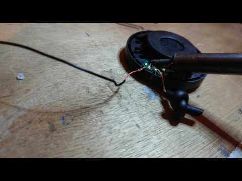 How To Fix Audiotechnica Headphones If You Can Not Splice Wire  Part 1