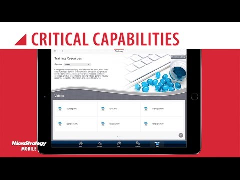MicroStrategy Embedded Multimedia