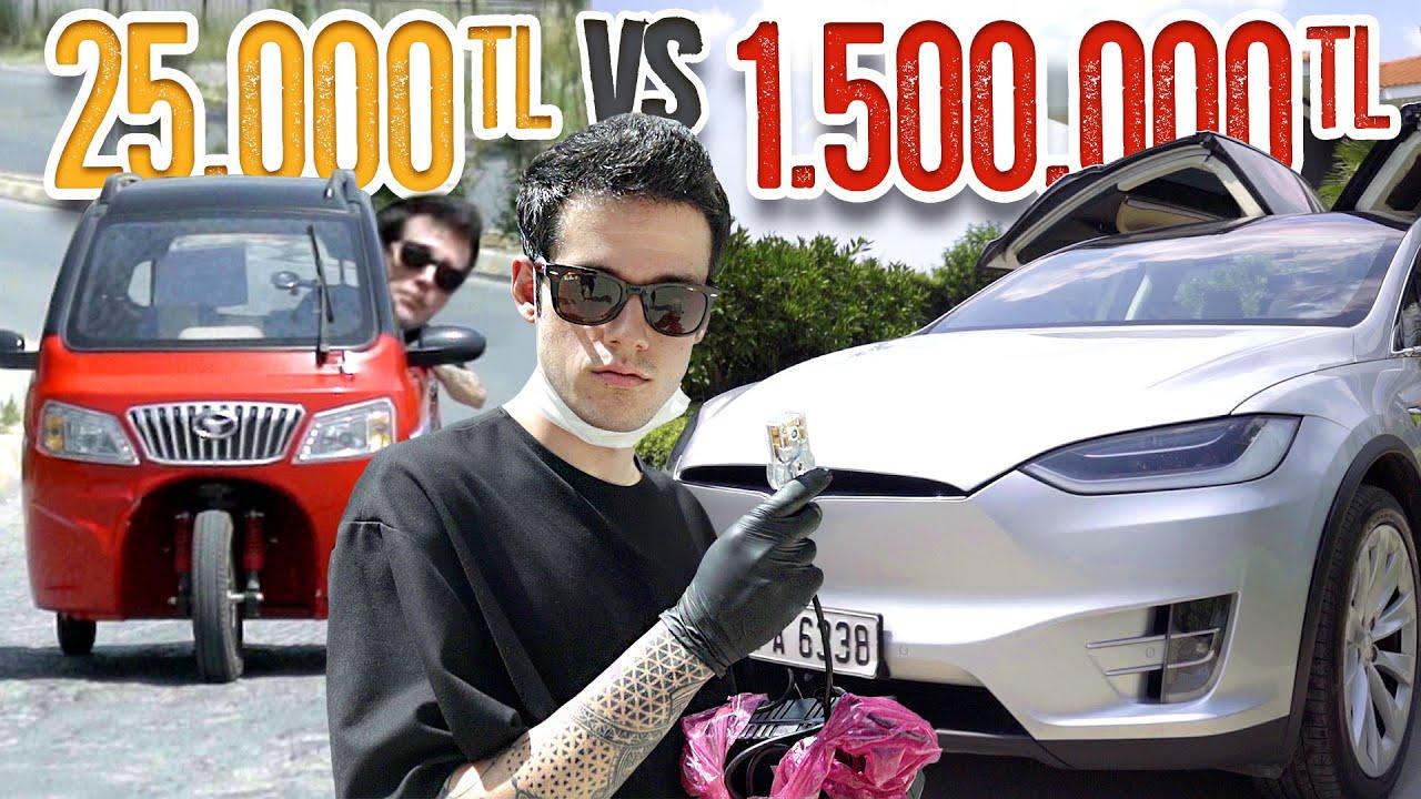 25.000TL Elektrikli Araba VS. 1.500.000TL Elektrikli Araba! (#SonradanGörme)