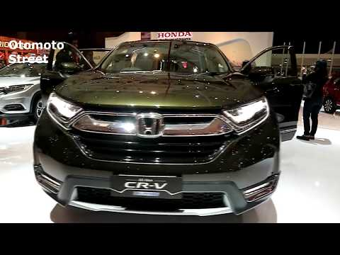Honda CR-V Turbo Prestige 2019 ,Dark olive Metallic colour, Exterior and Interior