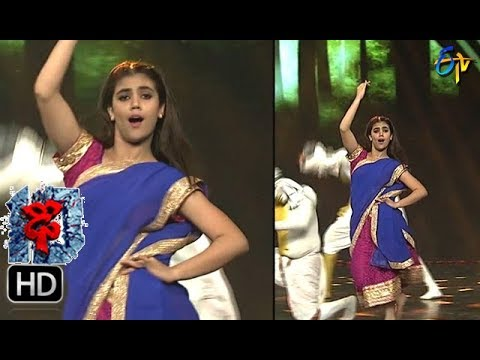 Aqsa Khan Performance | Dhee 10 | 11th October 2017| ETV Telugu