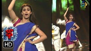 Aqsa Khan Performance | Dhee 10 | 11th October 2017| ETV Telugu