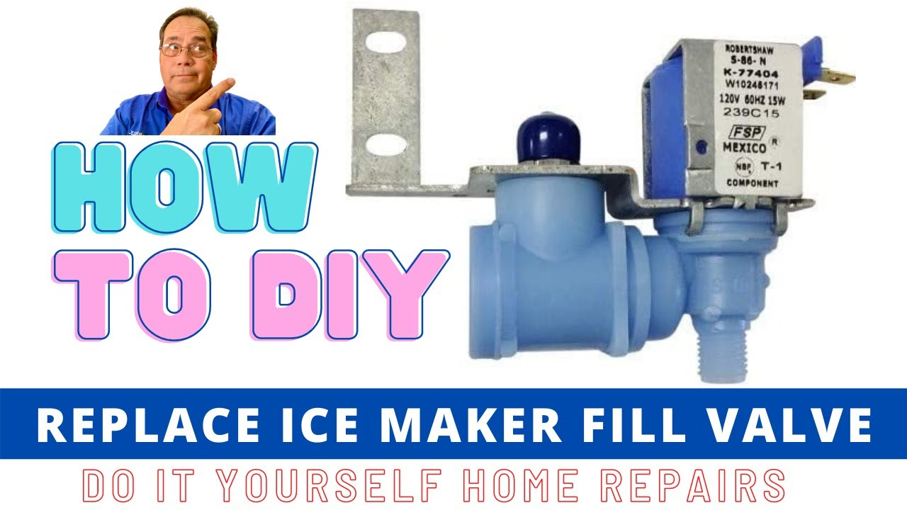 Ice Maker Fill Valve Replacement Youtube Norcold Ac Dc Refrigerator Schematics