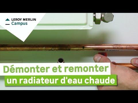 Comment Démonter Et Remonter Un Radiateur à Eau Chaude