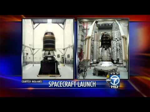 NASA moon rocket launch visible tonight