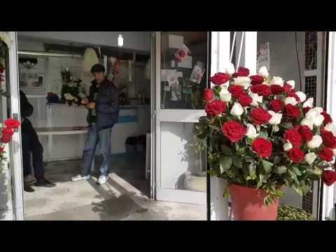 Le fleuriste et la Saint-Valentin