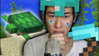 I lost my turtle in Minecraft.. (ASMR)