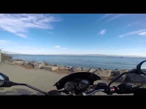 Ride to Treasure Island, San Francisco / 2006 Ducati Monster 620 Dark