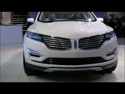 Lincoln Mkc Concept Reveal At 2013 Naias Youtube